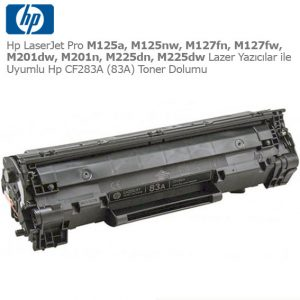 Hp CF283A Toner Dolumu