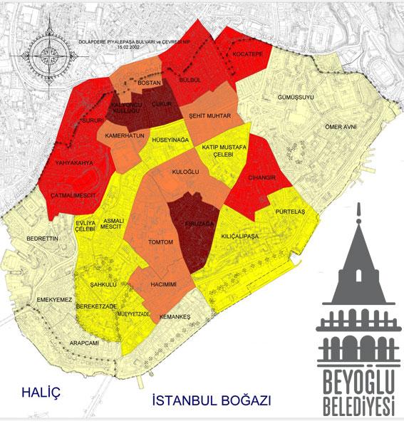 Beyoğlu Mahalleleri