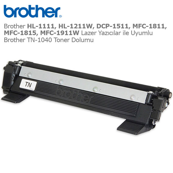 Brother TN-1040 Toner Dolumu