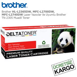 Brother TN-2305 Muadil Toner