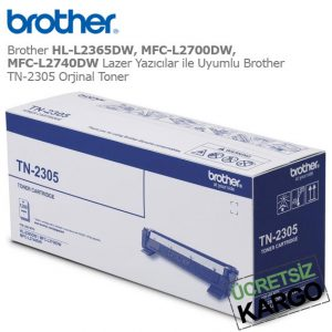 Brother TN-2305 Orjinal Toner
