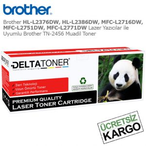 Brother TN-2456 Muadil Toner
