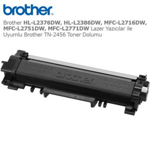 Brother TN-2456 Toner Dolumu