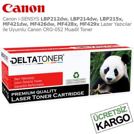 Canon CRG-052 Muadil Toner