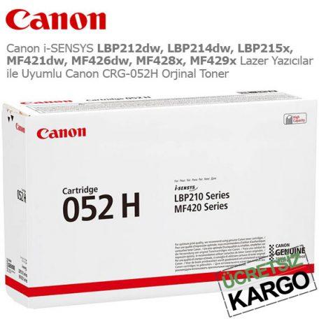 Canon CRG-052H Orjinal Toner
