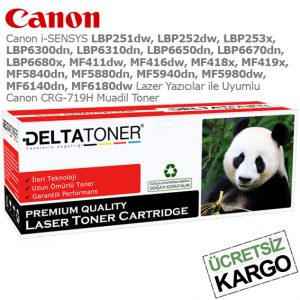 Canon CRG-719H Muadil Toner