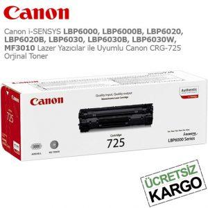 Canon CRG-725 Orjinal Toner