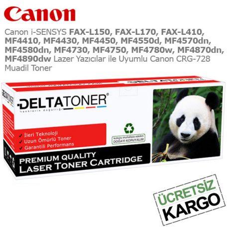 Canon CRG-728 Muadil Toner