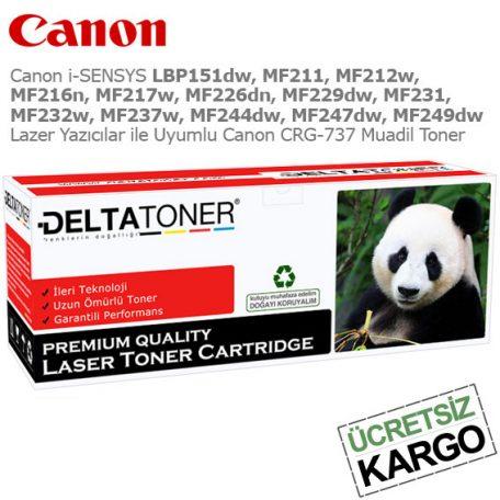 Canon CRG-737 Muadil Toner