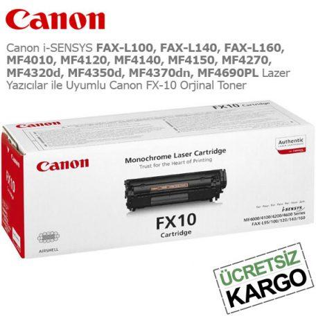 Canon FX-10 Orjinal Toner