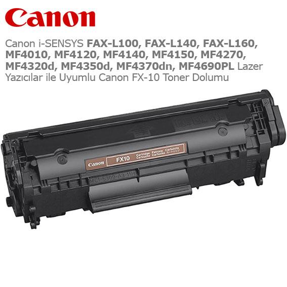 Canon FX-10 Toner Dolumu