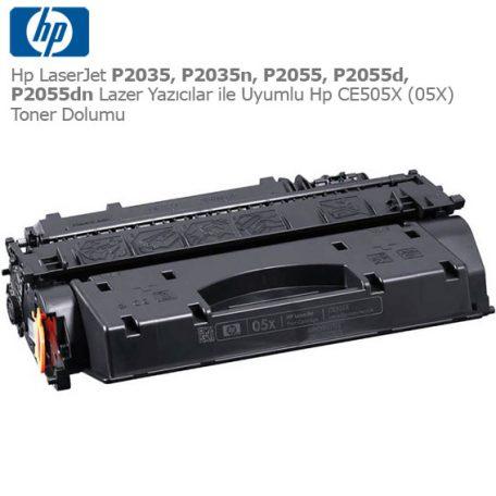 Hp CE505X Toner Dolumu