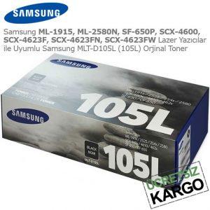 Samsung MLT-D105L Orjinal Toner