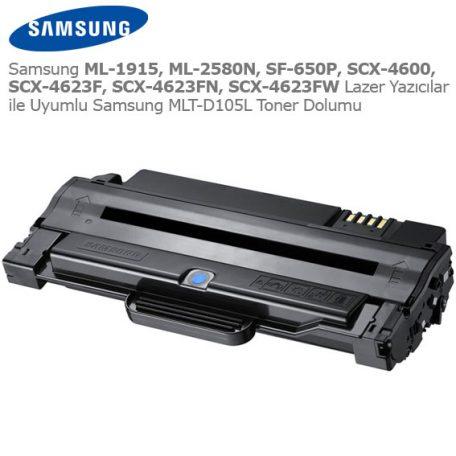 Samsung MLT-D105L Toner Dolumu