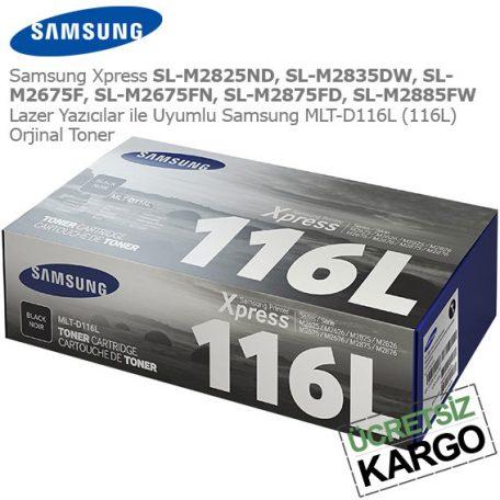 Samsung MLT-D116L Orjinal Toner
