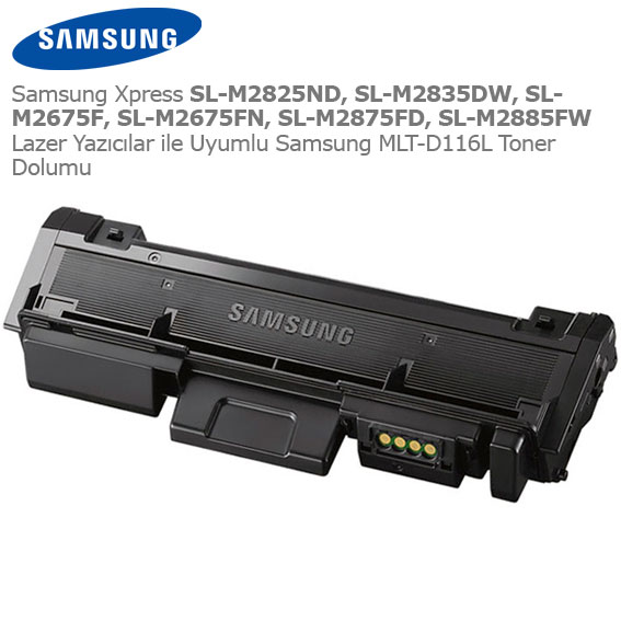 Samsung MLT-D116L Toner Dolumu