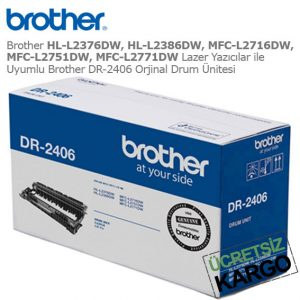 Brother DR-2406 Drum Ünitesi