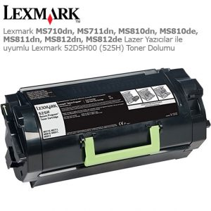 Lexmark 52D5H00 Toner Dolumu