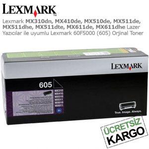 Lexmark 60F5000 Orjinal Toner