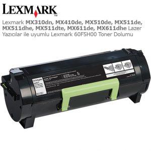 Lexmark 60F5H00 Toner Dolumu