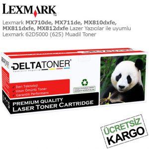 Lexmark 62D5000 Muadil Toner