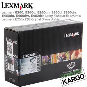 Lexmark E260X22G Drum Ünitesi