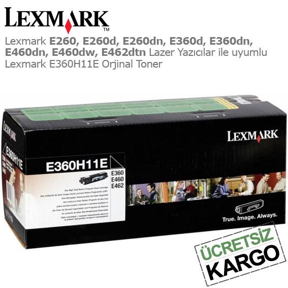 Lexmark E360H11E Orjinal Toner