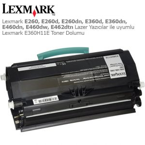 Lexmark E360H11E Toner Dolumu