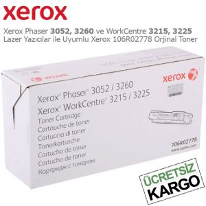 Xerox 106R02778 Orjinal Toner