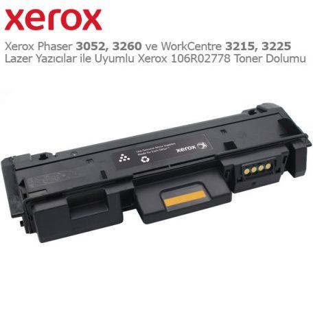 Xerox 106R02778 Toner Dolumu
