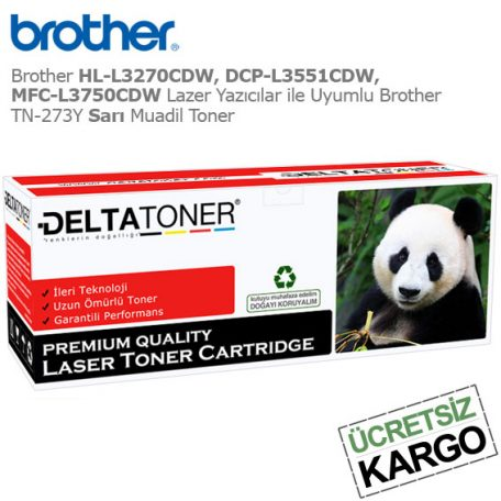 Brother TN-273Y Sarı Muadil Toner