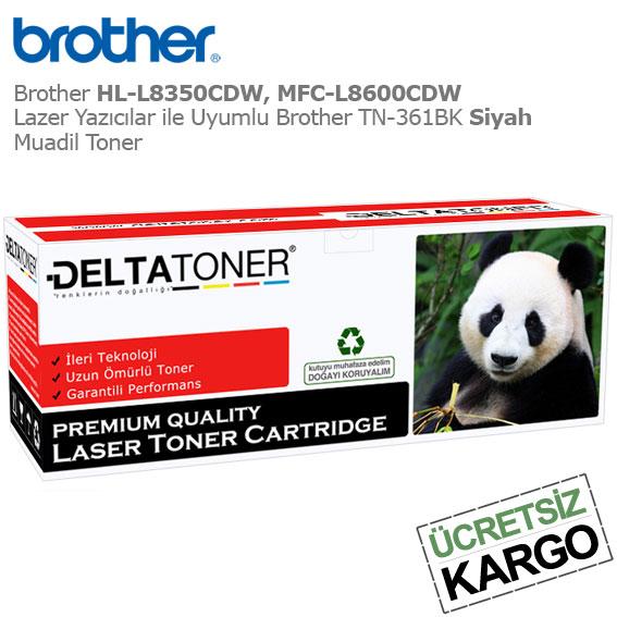 Brother TN-361BK Siyah Muadil Toner
