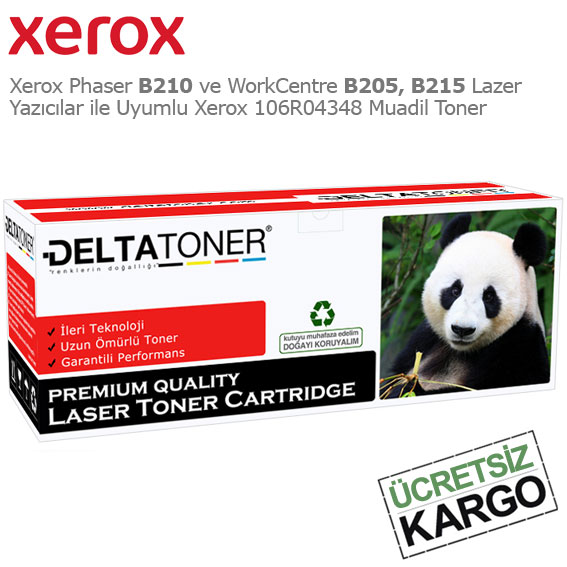Xerox 106R04348 Muadil Toner