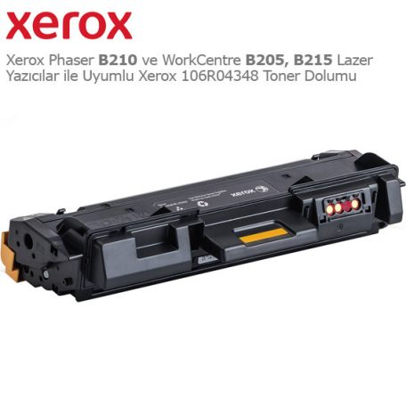 Xerox 106R04348 Toner Dolumu