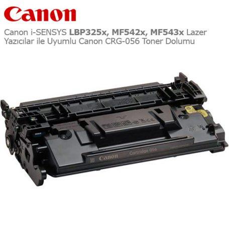 Canon CRG-056 Toner Dolumu