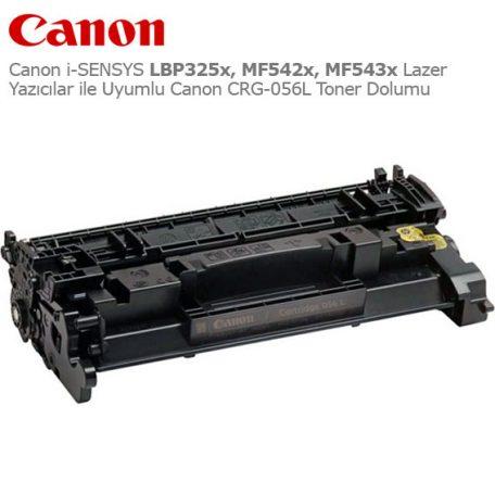 Canon CRG-056L Toner Dolumu