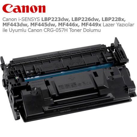 Canon CRG-057 Toner Dolumu
