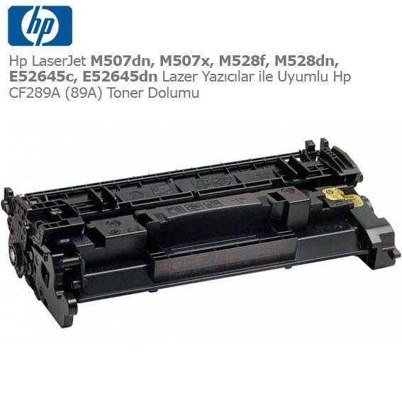 Hp CF289A Toner Dolumu