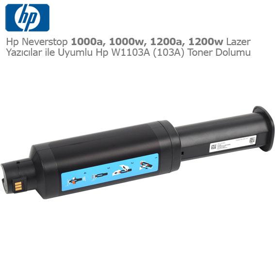 Hp W1103A Toner Dolumu