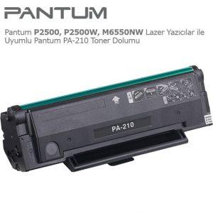Pantum PA-210 Toner Dolumu